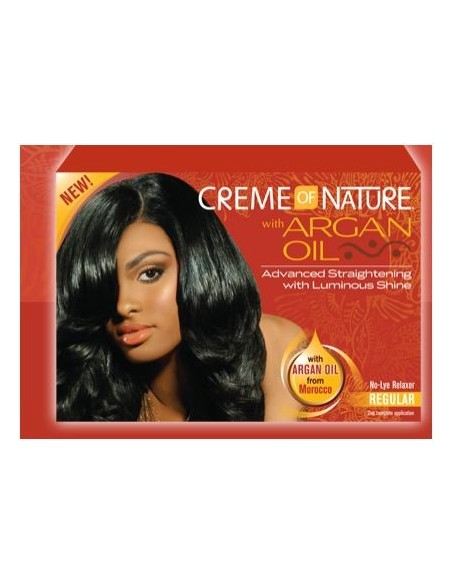 Crema Relaxer Of Nature Argan Oil
