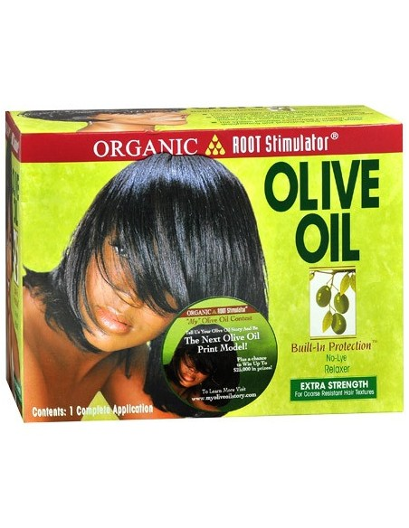 Alisador No-Lye Relaxer EXTRA STRENGTH Olive Oil ORS