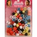 Hair Beads a Pressión 100 Unidades