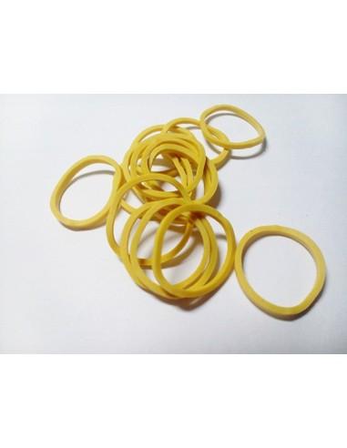 Gomas Amarillas Finas 250 Unidades