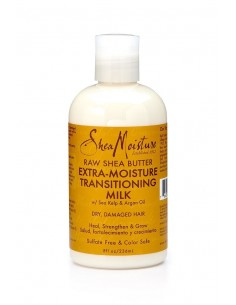 Leave-in Extra-Moisture Transitioning Milk Raw Shea Butter Shea Moisture 236ml