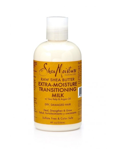 Leave-in Extra-Moisture Transitioning Milk SheaMoisture's Raw Shea Butter 236ml
