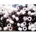 Bolas Blanca y Negra Mixtas