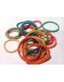 Gomas Finas colorines 250 Unidades