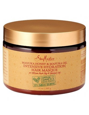 Manuka Honey & Mafura Oil Intensive Hydration Masque Shea moisture 364ml