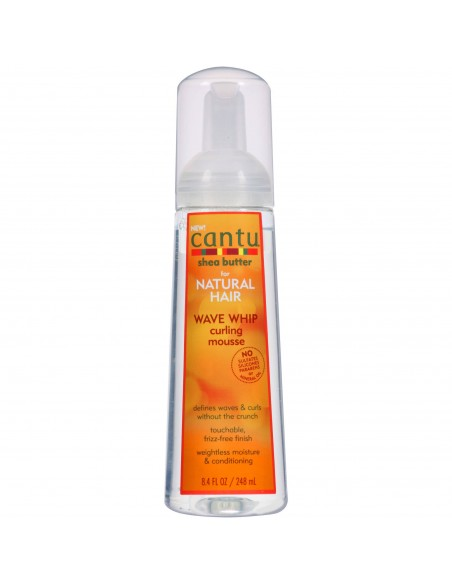Mousse Wave Whip Curling Mousse, Cantu 248ml