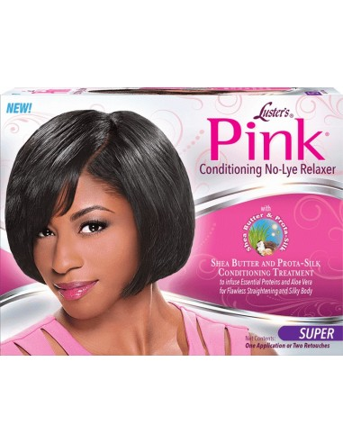 Crema Relaxer Conditioning No-Lye Relaxer Kit Luster's Pink