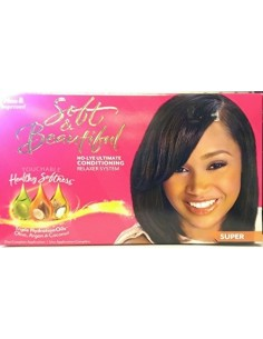 Relajante Soft & Beautiful Classic Relaxer Kit Super