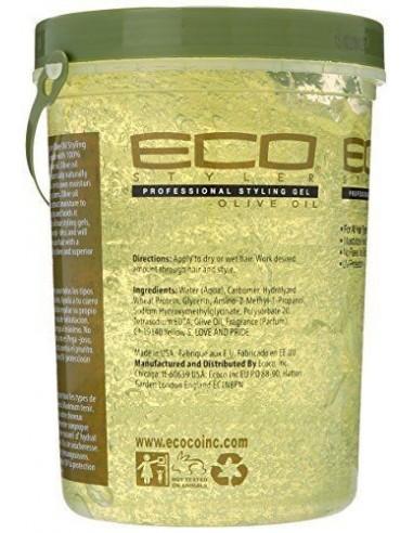Gel Styling Olive Oil Eco Styler 908ml