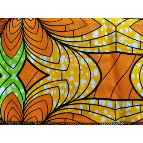 Pañuelo o Foulard Africano Verde