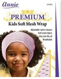 Cinta Ancha Premium Kids Soft Mesh Wrap Blanca