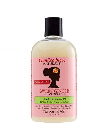 Champú Sweet Ginger Cleansing Rinse Camille Rose 12oz