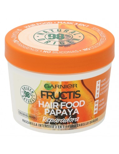 Mascarilla Reparadora Fructis Hair Food Papaya 390ml
