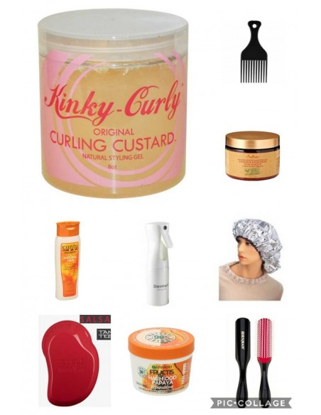 Glorirovi GRANDE Kit Inicio Metodo Curly Girl + TRANSPORTE GRATIS