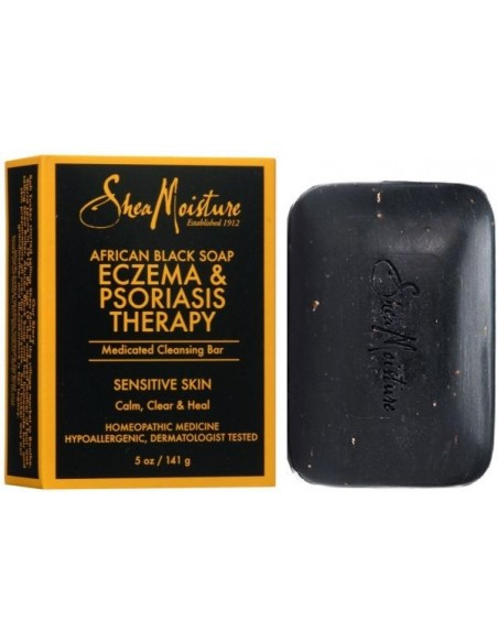 African Black Soap Eczema & Psoriasis Therapy SheaMoisture's