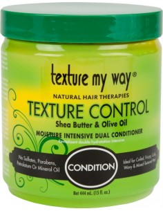 Condition Acondicionador Con Aclarado Texture Control Moisture Intensive Dual Conditioner Texture My Way 444ml