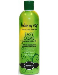 Detangle Easy Comb Leave-in Detangling & Softening Crème Therapy Texture My Way 355ml