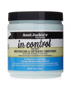 Acondicionador Con Aclarado In Control Moisturizing & Softening Conditioner Aunt Jackie's Curls & Coils 426ml