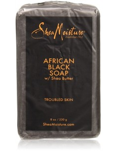 Jabón African Black Soap Shea Moisture 230ml