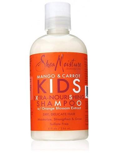 Champú Extra-Nourishing Shampoo Mango & Carrot KIDS Shea Moisture 236ml