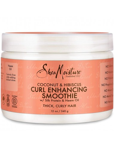 Curl Enhancing Smoothie Coconut & Hibiscus Shea Moisture 340g