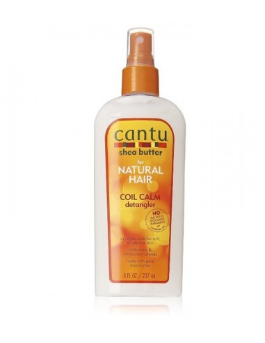 Spray Coil Calm Detangler Cantu Shea Butter 237ml