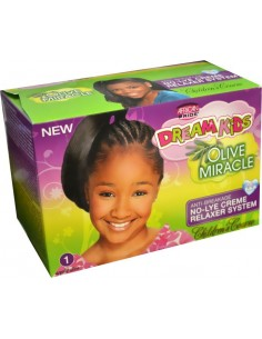 Relaxer Dream Kids Olive Miracle Super Children Coarse