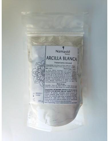 Arcilla Blanca Superfina Tratamiento Mineral En Polvo Kaolin