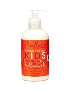 Acondicionador Con Aclarado Extra-Nourishing Conditioner Mango & Carrot KIDS Shea Moisture 236ml