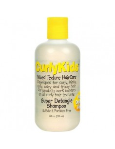 Champú Super Detangling Shampoo Curly Kids 244ml