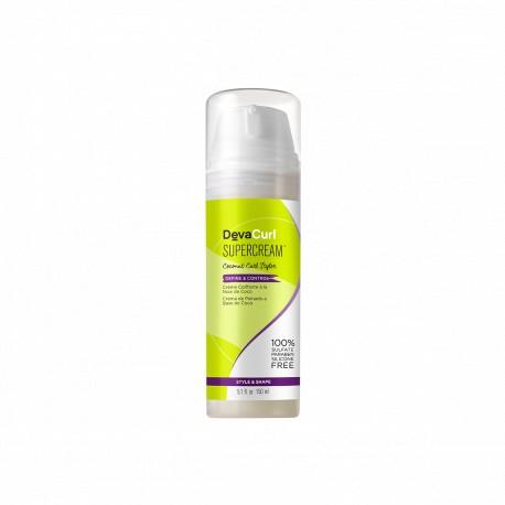 Crema de peinado Supercream Coconut Curl Styler Define & Control DevaCurl 150ml