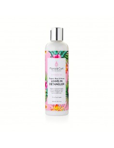 Leave in Organic Rose & Honey Milk Detangler Flora And Curl 300ml