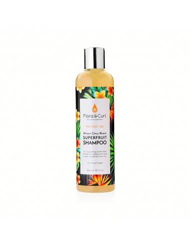 Champú African Citrus Superfruit Flora And Curl 300ml
