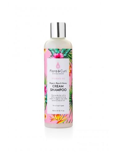 Organic Rose & Honey Cream Shampoo (300ml)