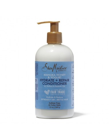 Acondicionador Con Aclarado Hydrate + Repair Conditioner Manuka Honey & Yogurt Shea Moisture 384ml