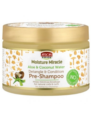Shampoo Moisture Miracle Honey & Coconut Oil Shampoo African Pride 354ml
