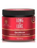 Champú  Hidratante Strengthening Shampoo Long & Luxe As I Am 355ml