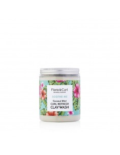 Curl Refresh Clay Wash Flora And Curl 220ml