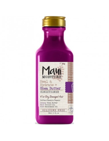 Acondicionador Con Aclarado Heal And Hydrate + Shea Butter Maui 13oz