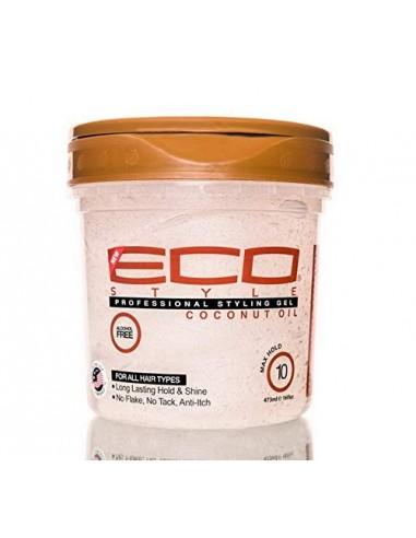 Gel Coconut Oil Professional Styling Eco Styler 976ml