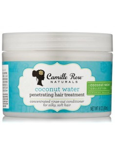 Mascarilla Coconut Water Penetrating Hair Treatment Camille Rose Naturals 8 oz