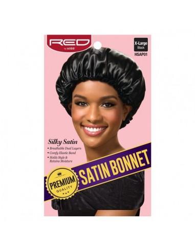 Gorro Satin Bonnet Premium Quality Negro