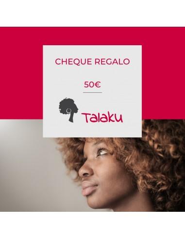 Cheque Regalo 50€ Talaku