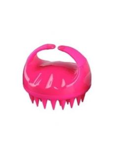 Masajeador Silicona Para Cuero Cabelludo Rosa PuffCuff