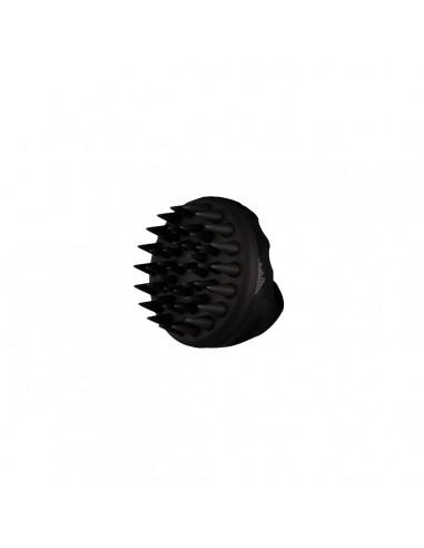 Masajeador Silicona Para Cuero Cabelludo Negro PuffCuff