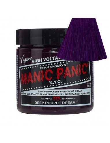 Manic Panic Deep Purple Cream 118ml