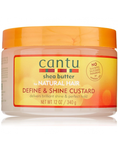 Gel Definidor Define & Shine Custard Cantu Shea Butter 340g