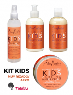 Kit Kids 4 Unidades Carrot...