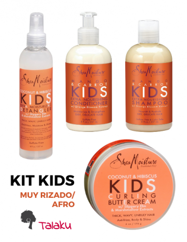 Kit Kids 4 Unidades Carrot Y Hibiscus...