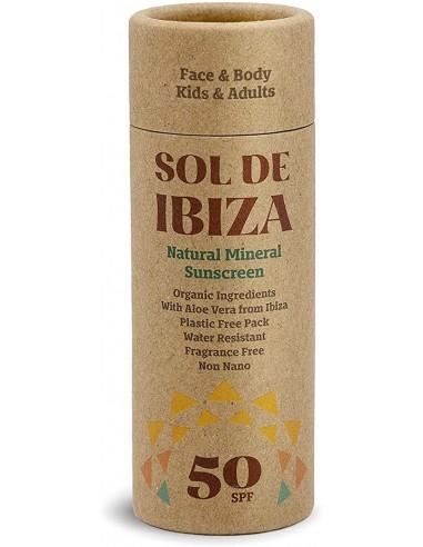Sol de Ibiza Crema Solar SPF50 40g